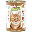 GranataPet DeliCatessen Kalkoen & Fazant Paté 400 g - Kattenvoer zonder suiker