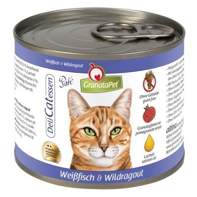 GranataPet DeliCatessen Witvis & Wildragout Paté 200 g, 85 g, 400 g