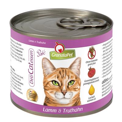 GranataPet DeliCatessen Lamm & Truthahn Paté 200 g, 85 g, 400 g