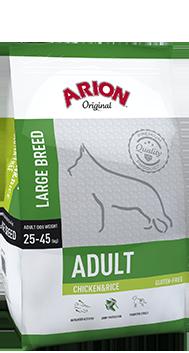 Arion Original Large Breed Adult mit Huhn und Reis  12 kg