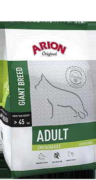 Arion Original Giant Breed Adult mit Huhn und Reis  12 kg
