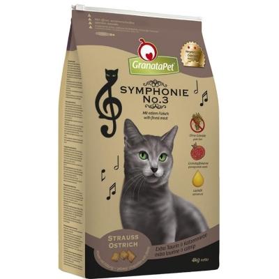 GranataPet Symphonie No.3 Struisvogel 4 kg, 2 kg, 400 g