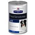 Hill's Prescription Diet Canine - z/dFood Sensitivities 370 g billige