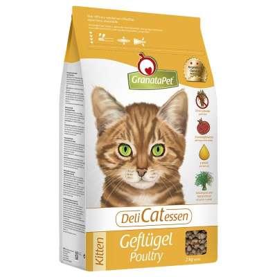 GranataPet DeliCatessen Gevogelte Kitten 400 g, 2 kg, 10 kg