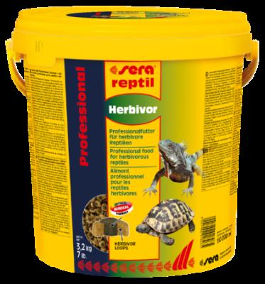 Sera Reptil Professional Herbivor  80 g, 330 g, 3.2 kg, 1 kg