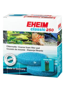 Eheim Aquarium Filtermatte für Filterbox 250 (2 Stück) Blau