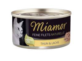 Feine Filets Naturelle - Tuna & Salmon Miamor 0000042308607