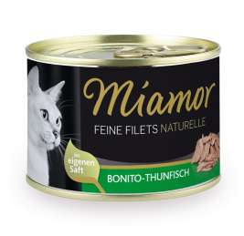 Fijne Filets Naturel Kattenvoer - Bonito Thunfisch Miamor 4000158750273