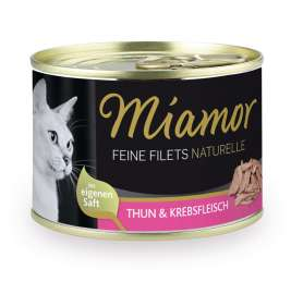Feine Filets Naturelle - Tuna & Crabs Miamor 4000158750266