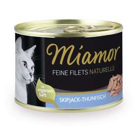 Fijne Filets Naturel Skipjack-Tonijn Miamor 4000158750259