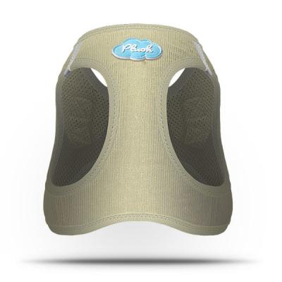 Curli Geschirr Vest Cord Khaki L