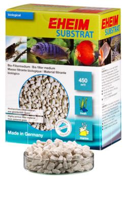 Eheim Aquarien Bio-Filtermedium mit hoher biologischer Leistung Substrat 1 l