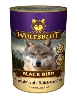 Wolfsblut Black Bird Turkije met zoete aardappelen  395 g, 200 g