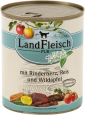 Landfleisch Pur Beef heart, Rice & Forest apple with fresh vegetables Can 400 g billige