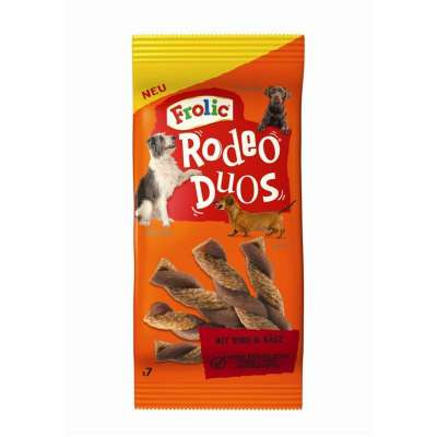 Frolic Rodeo Duos with beef & cheese Naudanliha & Juusto 140 g