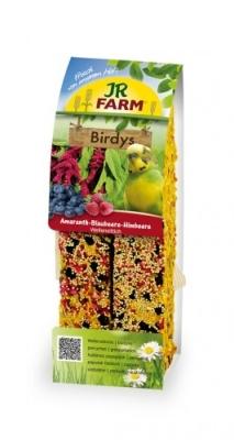 JR Farm Birdys Amaranth - Blueberries - Raspberries  2x130 g