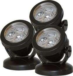 Söll Unterwasserbeleuchtungs - Set LED Pond P-3, weiß