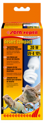 Sera Reptil Desert Compact/20W