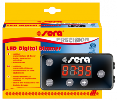 Sera LED Digital Dimmer Nero