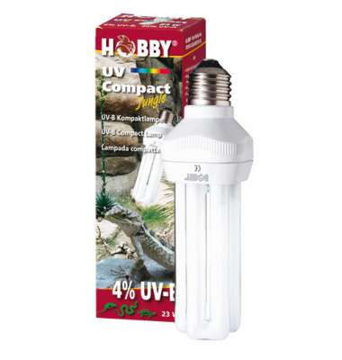 Hobby UV Compact Jungle, 4% UVB, 23W