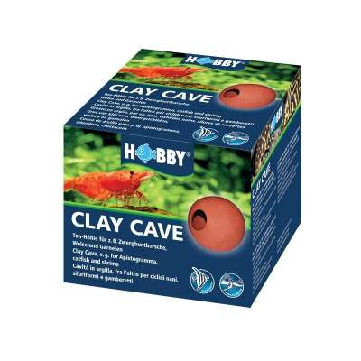 Hobby Clay Cave Rot 10x10x8 cm