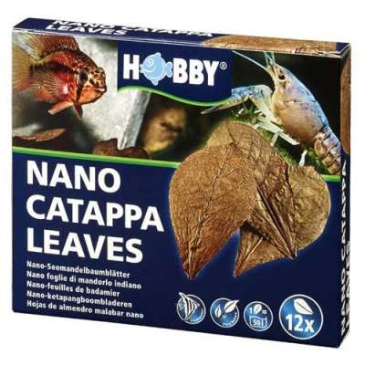 Hobby Nano Catappa Leaves, 12 Stück