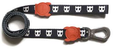 Zee.Dog Leash Skull L