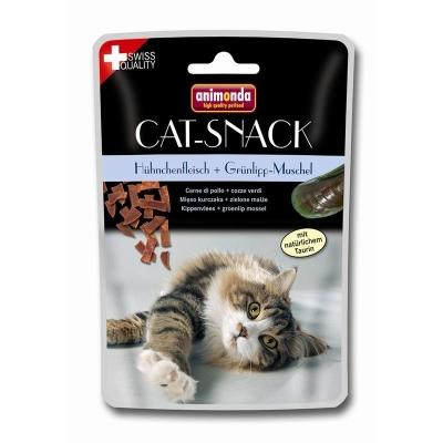 Animonda Cat Snack Pui și Midii Verzi Găină & Midie cu margini verzi 45 g