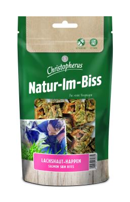 Christopherus Natur-Im-Biss Lachshaut-Happen 60 g