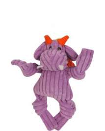 Knottie Puff The Dragon Purple Hugglehounds 0813168013863