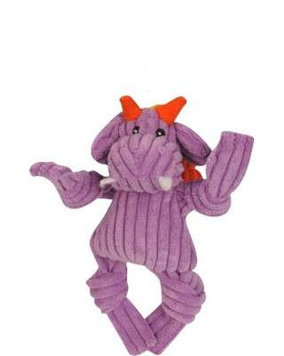 Hugglehounds Knottie Puff The Dragon Purple XS Dragon