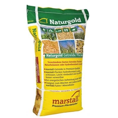 Marstall Naturgold Schwarz Gold Hafer  25 kg