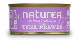 Grain Free Cat Thunfisch mit Garnelen Naturea  5600775323738