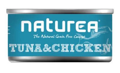Naturea Grain Free Cat Thunfisch mit Hähnchen 80 g