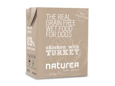 Naturea Grain Free Chicken With Turkey  375 g