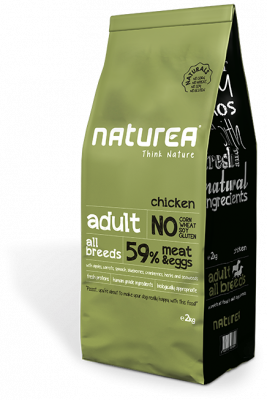 Naturea Naturals Adult Chicken  2 kg, 12 kg