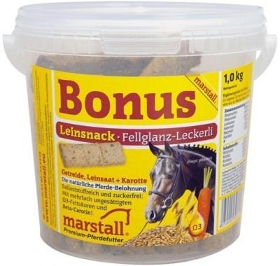 Marstall Bonus Leinsnack  20 kg, 1 kg