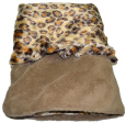 Smart Pet Love Fleece Pocket Bed Light brown
