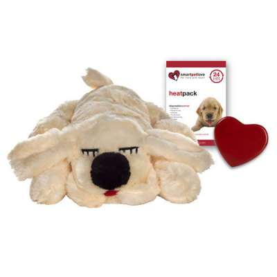 Smart Pet Love Golden Lab With Real Heartbeat Beige