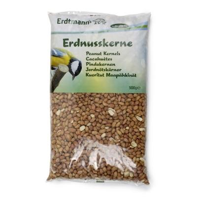 Erdtmann Cacahuètes en sachet  5 kg, 1 kg