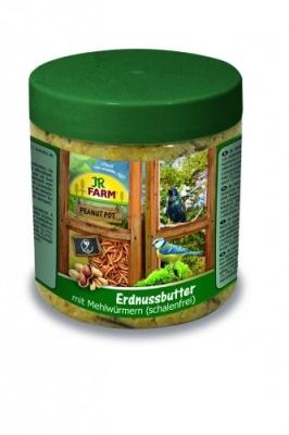 JR Farm Peanut Pot Erdnussbutter Mehlwürmer 400 g