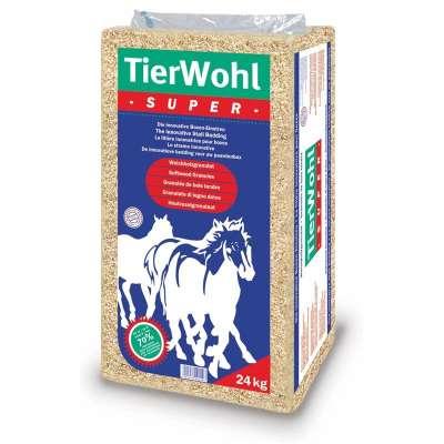 Tierwohl Super hestestrøelse  24 kg, 15 kg