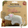 BeCo Pets Cat Toy Millie The Mouse  10x4 cm