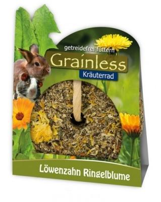 JR Farm Grainless Kräuter - Rad Löwenzahn - Ringelblume  140 g