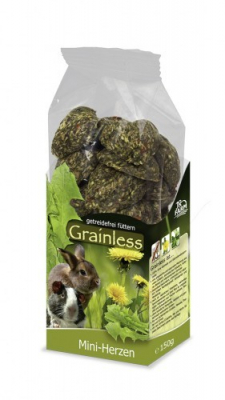 JR Farm Grainless Mini - Herzen  150 g
