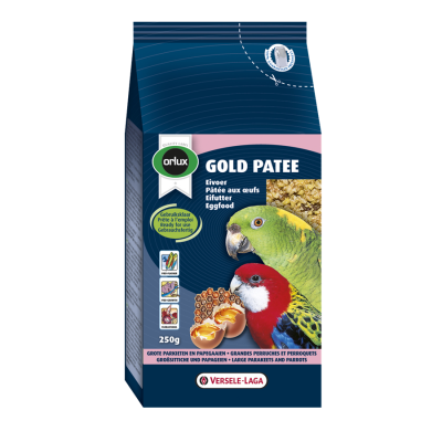 Versele Laga Orlux Gold Patee Papagayos y Pájaros  250 g, 1 kg