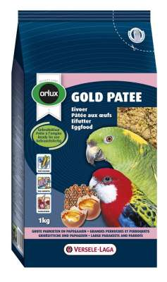 Versele Laga Orlux Gold Patee pour Grandes Perruches & Perroquets  250 g, 1 kg