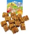 Cubos integrales de Manzana JR Farm 90 g