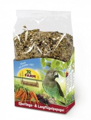 JR Farm Birds Individual für Sperlings- und Langflügelpapagei  1 kg
