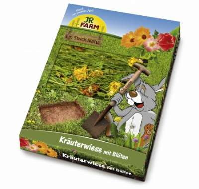 JR Farm Kräuterwiese mit Blüten  750 g